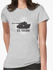 El Tigre WW2 Womens Fitted T-Shirt