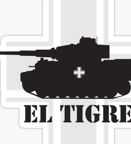 El Tigre WW2 Sticker