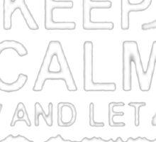Keep Calm and let Jonny handle it -Tshirts & Hoddies Sticker