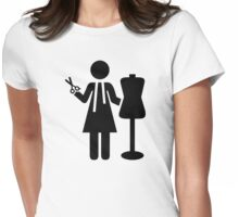 Tailor Fashion Designer Womens Fitted T-Shirt