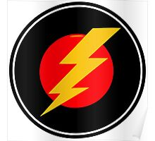 Awesome Lightning Bolt - Cool Case phone and laptop Poster