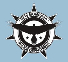 Halo, New Mombasa Police Department logo Kids Clothes