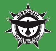 Halo, New Mombasa Police Department logo Baby Tee