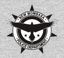 Halo, New Mombasa Police Department logo One Piece - Long Sleeve