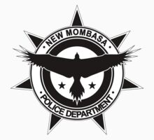 Halo, New Mombasa Police Department logo One Piece - Short Sleeve