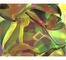 Green Psy Photographic Print