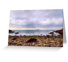 Cot Valley St Just Cornwall Greeting Card