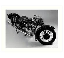 Ariel Motorcycle Art Print