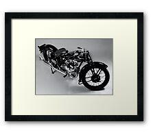 Ariel Motorcycle Framed Print