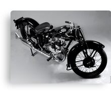 Ariel Motorcycle Canvas Print