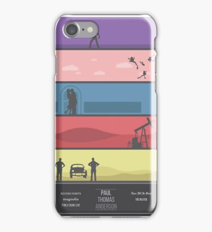A Paul Thomas Anderson Collection Print iPhone Case/Skin