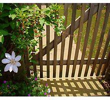 Garden Gate - SMALLTOWN USA series ^ Photographic Print