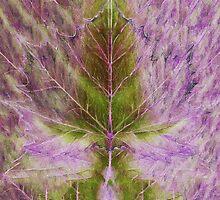Leaf drawing by Medusa81