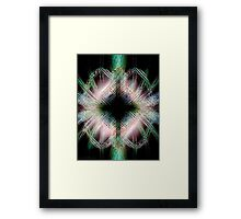Crux of Night Framed Print