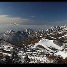 Shiga Kogen Panorama by Robert Mullner