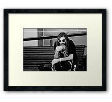 ♥-♥ Framed Print