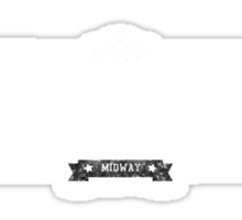 Mortal Kombat - Retro White Dirty Sticker