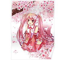 Sakura Miku Poster