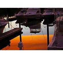 Mirror Sunset Photographic Print