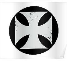 Round Cross Poster