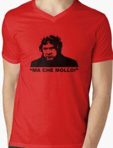 """MALESANI - """"ma che mollo!"""" Mens V-Neck T-Shirt"""
