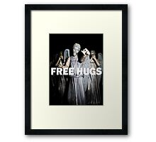 Free Hugs by an Angel Framed Print