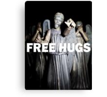 Free Hugs by an Angel Canvas Print