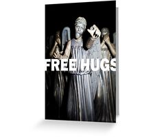 Free Hugs by an Angel Greeting Card