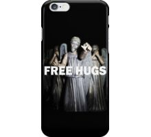 Free Hugs by an Angel iPhone Case/Skin