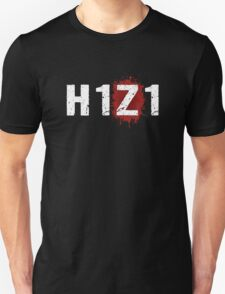 H1Z1: Bloody Z Title - White Ink Unisex T-Shirt