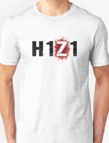 H1Z1: Bloody Z Title - Black Ink Unisex T-Shirt