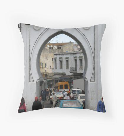 Morocco - Medina Throw Pillow
