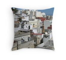 Morocco - Rooftop Throw Pillow