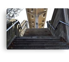 Stairs to the Station Canvas Print