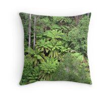 Tasmanian Forest Throw Pillow
