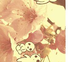 Studio Ghibli  Kodama by ManicEvilGenius