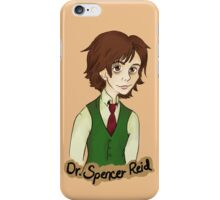 Dr. Spencer Reid iPhone Case/Skin