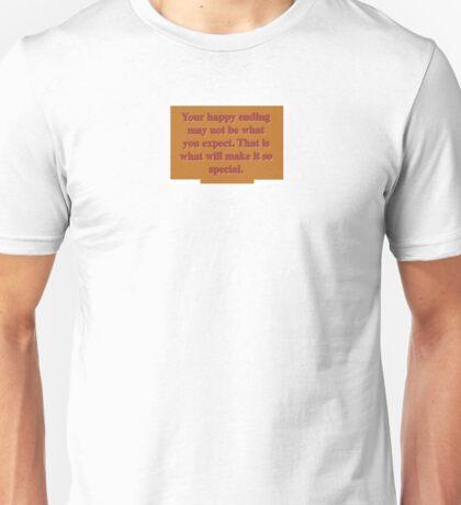 Happy ending Unisex T-Shirt