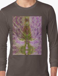 Leaf drawing Long Sleeve T-Shirt