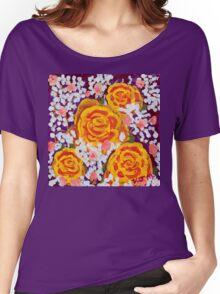Fiery Bouquet Women's Relaxed Fit T-Shirt