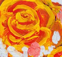 Fiery Bouquet Sticker
