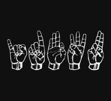 IDFWU Sign Language by thehiphopshop