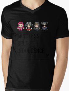 MINDLESS SELF INDULGENCE VIDEO GAME RETRO Mens V-Neck T-Shirt