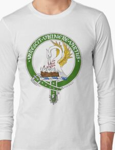 Clan Stewart Scottish Crest Long Sleeve T-Shirt