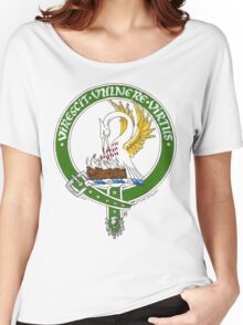 Clan Stewart Scottish Crest Women's Relaxed Fit T-Shirt