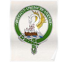 Clan Stewart Scottish Crest Poster