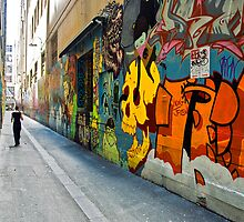 Union Lane Melbourne by Chris Muscat