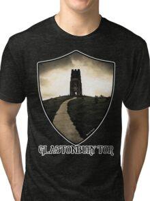 Glastonbury Tor - Iconic Avalon Tri-blend T-Shirt