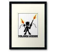 Yolandi Visser Pew Pew Framed Print