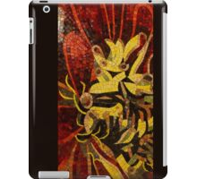 Imagination in Reds and Yellows iPad Case/Skin